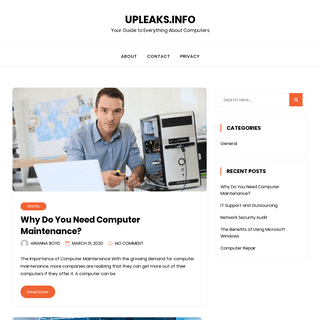 Upleaks.info - Your Guide to Everything About Computers