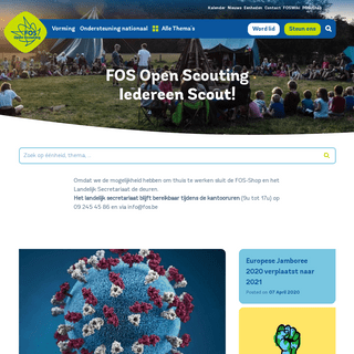 FOS Open Scouting Iedereen Scout! - FOS Open Scouting - Iedereen scout!