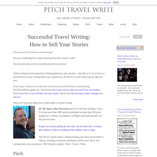 Successful Travel Writing- How to Sell Your Stories