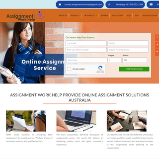 Best Assignment Help Australia - Online Assignment Writing Help USA