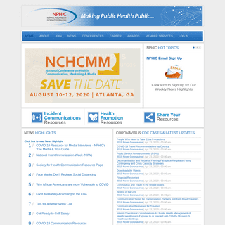 National Public Health Information Coalition (NPHIC) - National Public Health Information Coalition (NPHIC)