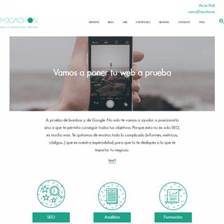 Consultora SEO y marketing online - Somos MJCachón