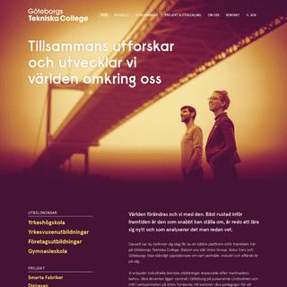Göteborgs Tekniska College - GTC