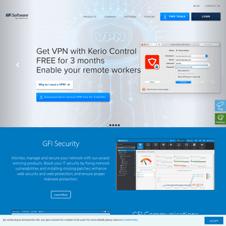 Web, Email and Network Security Software