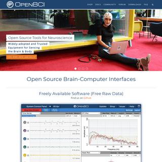 OpenBCI - Open Source Biosensing Tools (EEG, EMG, EKG, and more)
