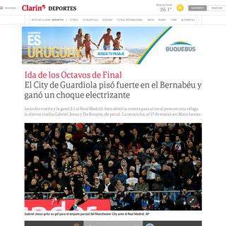 EN VIVO - Real Madrid vs Manchester City- hora, formación y cómo ver en vivo - Champions League