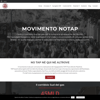 No Tap – Sito ufficiale del Movimento No Tap