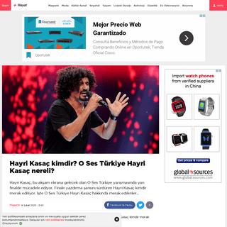 Hayri Kasaç kimdir- O Ses Türkiye Hayri Kasaç nereli- - Magazin haberleri