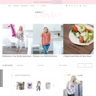 Simply Clarke - Houston Mom & Lifestyle Blogger