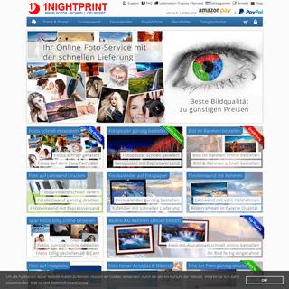 Fotofachlabor - 1NIGHTPRINT Fotos aus dem Fotofachlabor schnell entwickelt, Fotos mit Express Versand - 1Nightprint