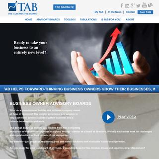 Business Coaching and Advisory Boards - TAB Santa Fe