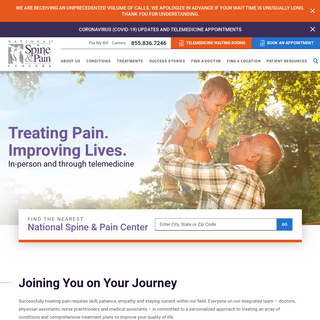 Pain Management Specialists - National Spine & Pain Centers