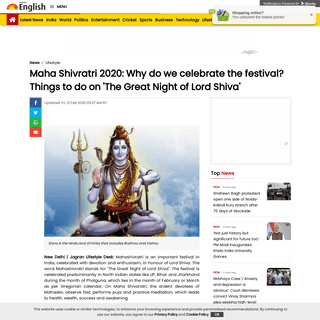 ArchiveBay.com - english.jagran.com/lifestyle/maha-shivaratri-2020-why-do-we-celebrate-the-festival-things-to-do-on-this-day-10009056 - Maha Shivratri 2020- Why do we celebrate the festival- Things to do on 'The Great Night of Lord Shiva'