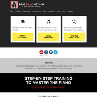 BestPianoMethod.com - Amosdoll Official Piano Mentoring — Best Piano Method