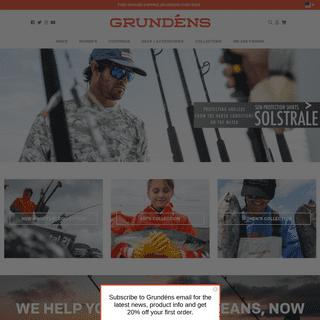 Grundéns Fishing Apparel - Bibs, Jackets, Shirts, Pants & More