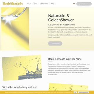 Sektkelch – Spass am Nass