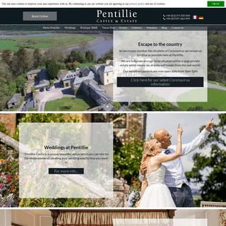 Castles in Cornwall - Boutique B&B in Cornwall - Pentillie