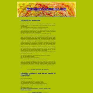 MyHolisticConnection.com