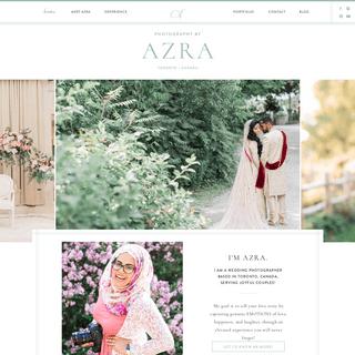 Photography by Azra - Toronto Pakistani Muslim Wedding Photography