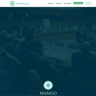 Welcome to WANGO, World Association of Non-Governmental Organizations