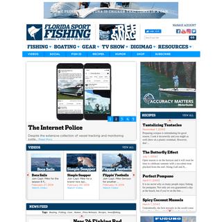 Florida Sport Fishing - Journal. Online. Television.