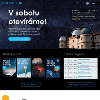 planetum – Hvězdárna a planetárium hl. m. Prahy