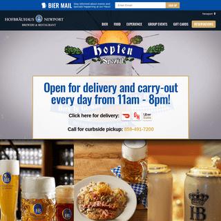 Hofbräuhaus Newort - German Food, Beer & Events