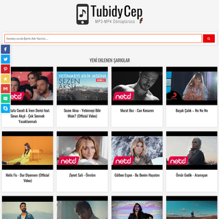 Tubidy Cep - Mobil MP3-MP4 İndir- Youtube MP3 Dönüştürücü