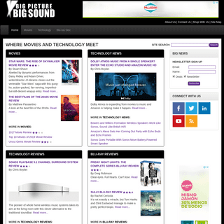 BigPictureBigSound - Where Movies and Technology Meet
