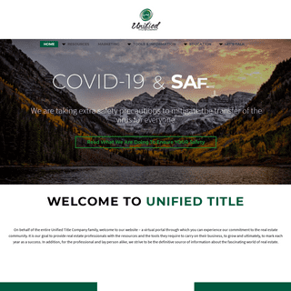 ArchiveBay.com - unifiedtitle.com - Colorado Title Company & Escrow Services - Title Insurance & Search