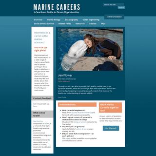Marine Careers -