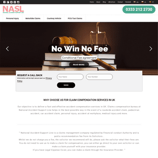 Claim Compensation UK & Insurance Claim Services UK – National Accident Support line