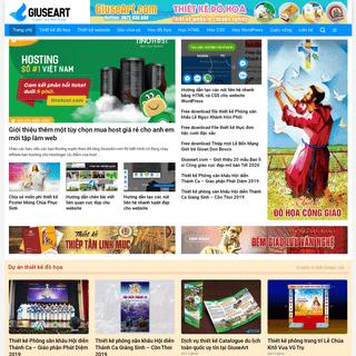 GiuseArt.com - Thiết kế đồ họa và website chuyên nghiệp