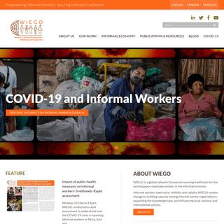 Homepage - WIEGO