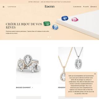 Bijouterie en ligne Edenn.com - + de 15 000 bijoux sur mesure