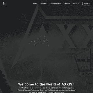 AXXIS - The German Rockband (official website)