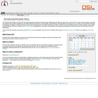 ArchiveBay.com - personaltelco.net - PersonalTelco - Personal Telco Project