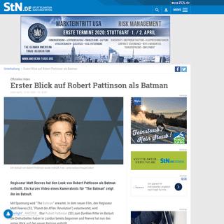 ArchiveBay.com - www.stuttgarter-nachrichten.de/inhalt.offizielles-video-erster-blick-auf-robert-pattinson-als-batman.e95d27ab-0971-4444-bc24-242d8fbe04ee.html - Offizielles Video- Erster Blick auf Robert Pattinson als Batman - Unterhaltung - Stuttgarter Nachrichten