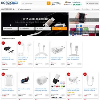 Mobiltillbehör, mobilskal & reservdelar - Fast frakt 29-- - Köp på Nordicbox.se