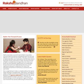 Raksha Bandhan - Rakhi Festival, Raksha-Bandhan.com