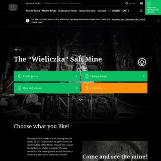 """The """"Wieliczka"""" Salt Mine"""