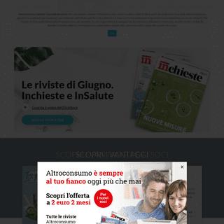 ArchiveBay.com - altroconsumo.it - Altroconsumo - Associazione di Consumatori Italiana