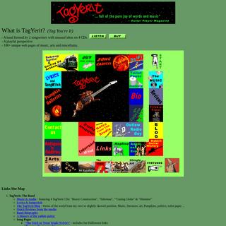 TagYerit- Music and Web Culture - Rock, Pop, AAA, Alternative, Guitar, Art