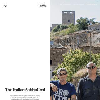 The Italian Sabbatical - Italian Sabbatical