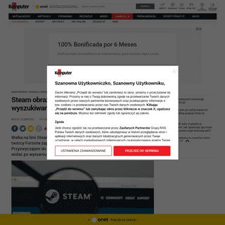 Steam obraża Epic Games Store w wyszukiwarce Google. Błąd czy włamanie-