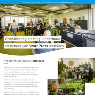 WordPress internetbureau in Rotterdam - Sowmedia