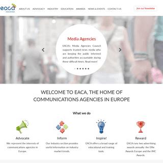 ArchiveBay.com - eaca.eu - EACA - The European Association of Communications Agencies