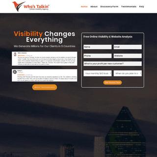 #1 USA SEO Company - Social Search Engine Optimization Agency