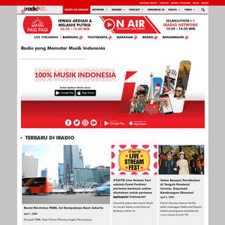 Radio yang Memutar Musik Indonesia - IRADIO FM