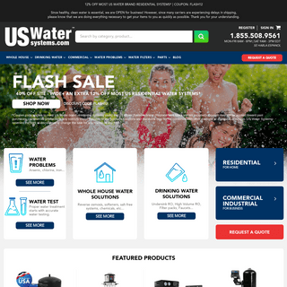 US Water Systems - Water Treatment Solutions for Home & Business